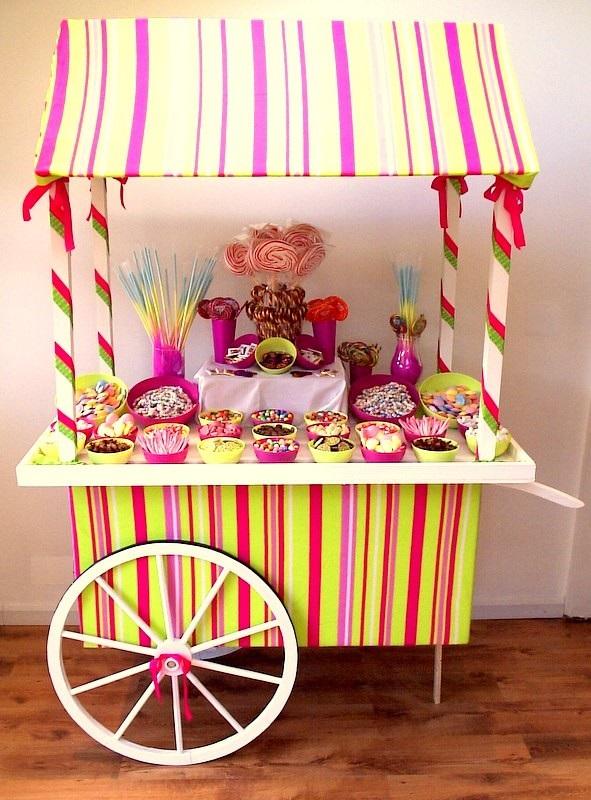 Espect culos magic john carro de chuches o dulces - Carro de chuches para cumpleanos ...